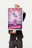 Lamp Poster Design by ZOMBIEie