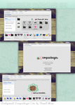 Theme background Iconpackager Cute by BreenEditiions