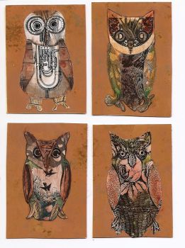 ATC Owls by claudiamm37