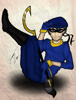 Sly Cooper humanized by aganox