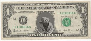 Yoda's money by andyNroses