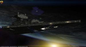 Imperial Star Destroyer by Euderion