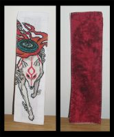 Okami Bookmark - Amaterasu by Craftigurumi