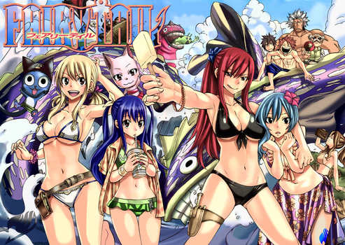 Fairy Tail 291 color cleaning written by Ulquiorra90