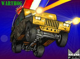 Warthog Rampage by wondermanrules