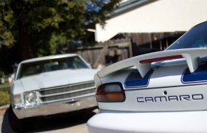Camaro and Chevelle by Doogle510