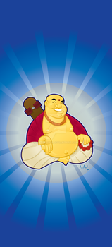 The Skate Buddha by WarBrown