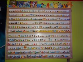 Tomy Pokemon Figure Collection by SuzanneEspeon