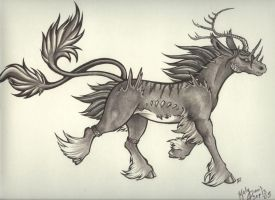 playtime with ze Kirin X3 by HanMonster