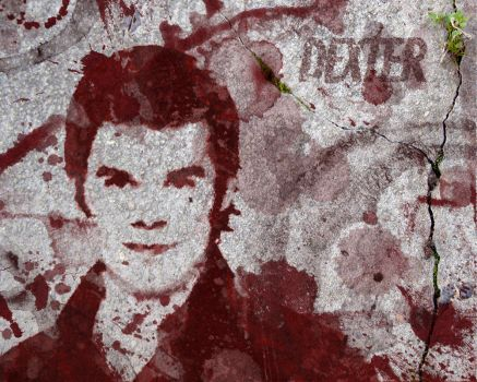 Dexter's Blood on the Street by LB-MaN
