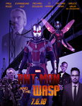 Ant Man and the Wasp Poster by Nunkinz1000