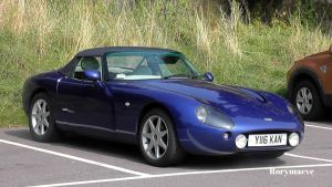 2001 TVR Griffith by The-Transport-Guild