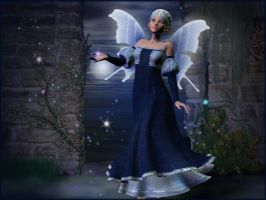 Moon Faerie by macarthurfamily