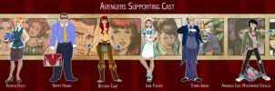 Marvel Lineup 43 by VegetarianGoat