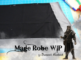 Stage 12: Mage Robe WIP by Bunneahmunkeah
