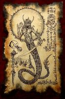 The Serpent God of Lemuria by MrZarono