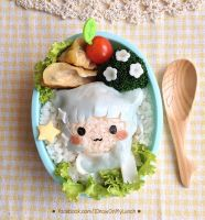 Ouji Neko Bento Lunch box by loveewa