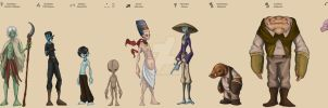Alien Concept designs- Page 1 by TopHatTruffles