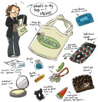 what's in my bag: the meme by basalt