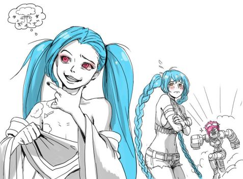 Jinx and Sona by An3002