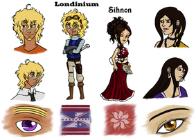 HetaFly Refs: Londinium and Sihnon by X-I-L2048