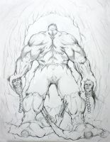 Hulk Kills Wolverine and Daken by bmag29