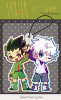 HxH friend's forever Clear Acrylic Charm by Poiizu