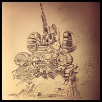 Mecha by Wes-StClaire