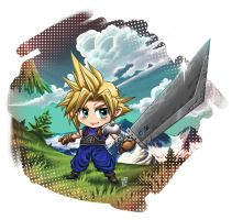 Cloud Chibi by Nerkin