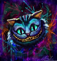 The Cheshire Cat. by artissx