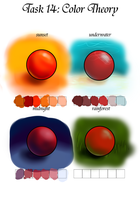 GM task 14: Colour theory by Teacup-creations