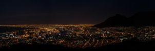 Cape Town Panorama by mannynyf