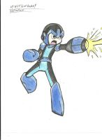 The BlueBomber MegaMan! by worldofhammy