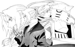 Edward Elric and Alphonse Elric by 222Shinta1
