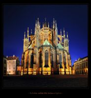 - The Cathedral of st. Vitus - by UNexperienced