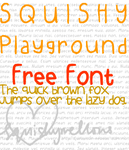 Squishy Playground Font by squishymellows