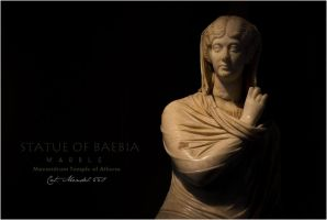 Statue of baebia by leventste