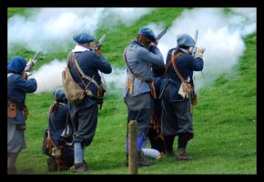 Musket Fire III. by purgatoryboy