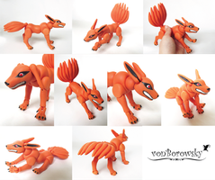 Kurama Doll by vonBorowsky