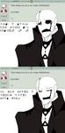 Undertale Ask: W.D Gaster question #7 by The-Star-Hunter