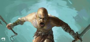 Barbarian-study by mltc