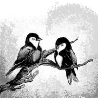 Manga Birds (Small size) by WillDil