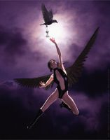 Gothic Angel - Reach by DevilishlyCreative