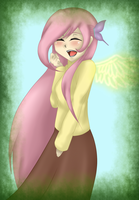 .:Fluttershy- Mi version:. by chica-tdglee