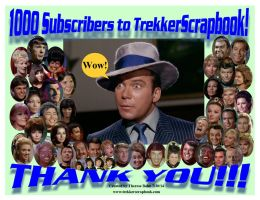 1000 Thank You by Therese-B