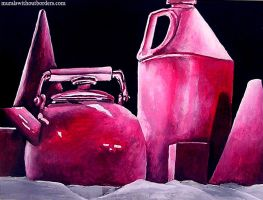 Still Life in Red by MuralsWithoutBorders