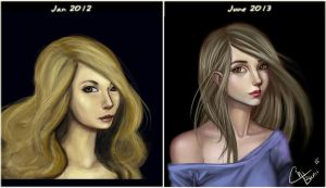 Before and After by ChiBunii-Art
