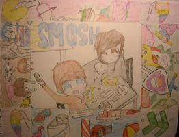 another SMOSH COLLAGE? :D by huey4ever