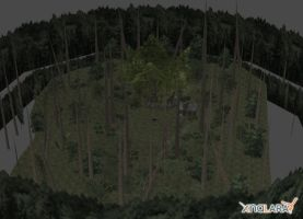 Final Fantasy Type-0: Forest Campsite by xHolyxLightx