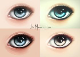 Eye Painting Test by LeoDeMoura